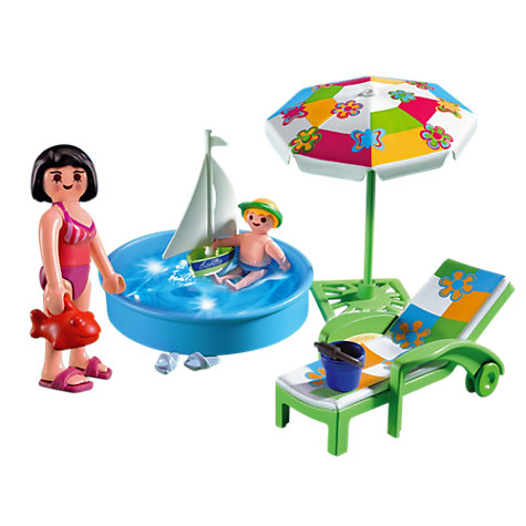 Buy Playmobil Paddling Pool Online at johnlewis.com