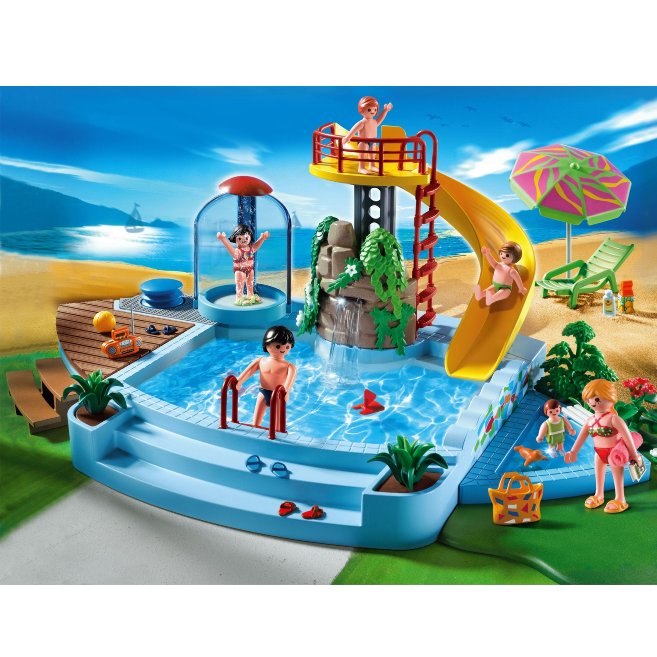 Click here for Playmobil Pool and Water Slide