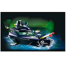 Buy Playmobil Secret Agent Robo-Gangster Battle Yacht Online at johnlewis.com