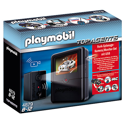 Buy Playmobil Secret Agent Spy Camera Set Online at johnlewis.com