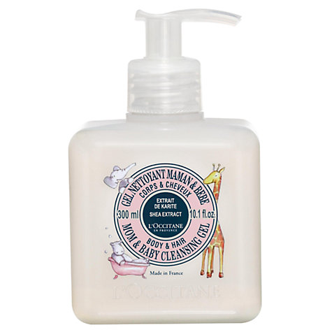 Buy L'Occitane Mom and Baby Cleansing Gel, 300ml Online at johnlewis.com