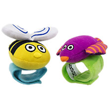 Buy Sassy Wrist Rattles, Pack of 2 Online at johnlewis.com