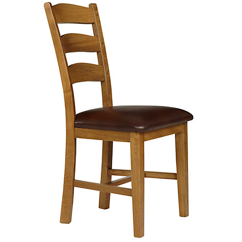 Buy Ardennes Leather Dining Chairs Online at johnlewis.com