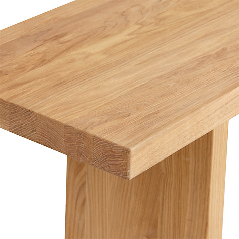 Buy John Lewis Henry 4-Seater Dining Bench, Oak Online at johnlewis.com