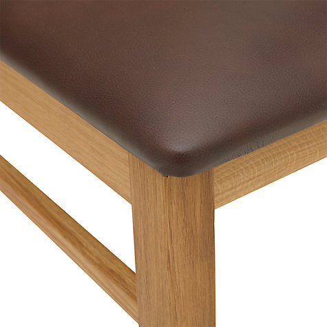 Buy John Lewis Vanessa Leather Dining Chair Online at johnlewis.com