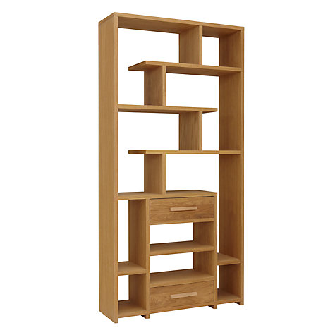 Buy John Lewis Henry 2 Drawer Bookcase Online at johnlewis.com