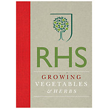 Buy Royal Horticultural Society Growing Vegetables & Herbs Online at johnlewis.com