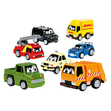 Buy Pull-Back Comic Car, Assorted Online at johnlewis.com
