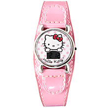 Buy Hello Kitty LCD Watch, Pink Online at johnlewis.com