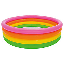 Buy Intex Sunset Glow Paddling Pool Online at johnlewis.com