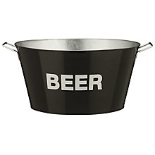 Buy John Lewis Enamel Beer Bucket Online at johnlewis.com