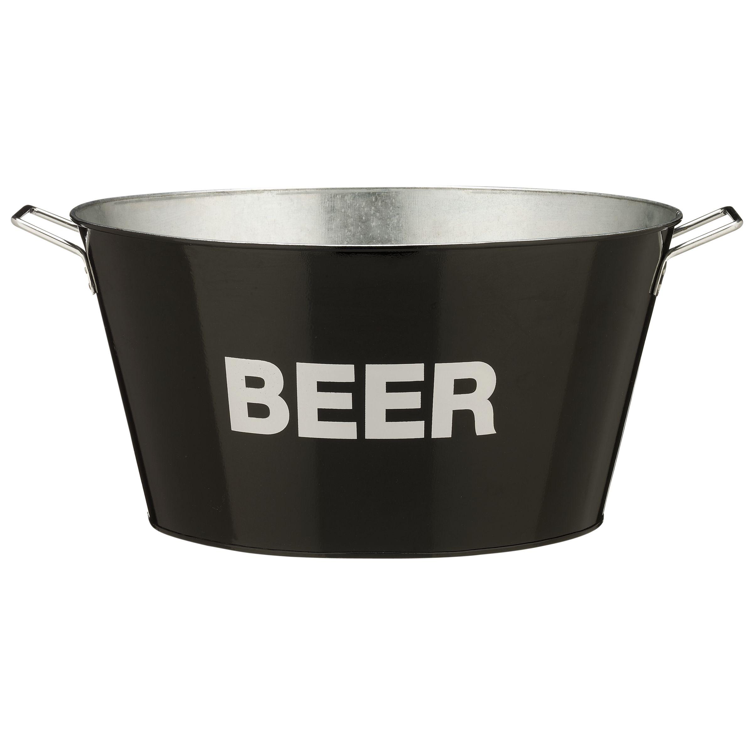 John Lewis Enamel Beer Bucket