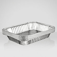 Buy John Lewis BBQ Drip Trays, Large, Set of 10 Online at johnlewis.com