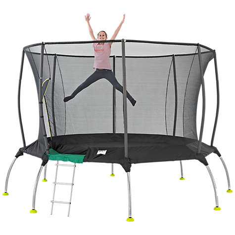Buy TP282P Genius Octagonal2 SurroundSafe Trampoline, 12ft Online at johnlewis.com