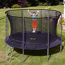 Buy TP251 Genius Round SurroundSafe™ 12ft Trampoline Online at johnlewis.com