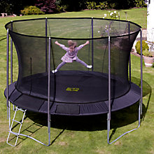 Buy TP252 Genius Round SurroundSafe™ 14ft Trampoline Online at johnlewis.com