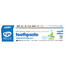 Buy Organic Baby Spearmint and Aloe Vera Toothpaste, 50ml Online at johnlewis.com