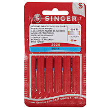 Buy Singer Sewing Machine Needles, 2020-90 Online at johnlewis.com