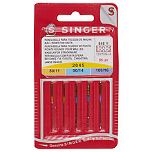 Buy Singer Sewing Machine Needles, 2045 Online at johnlewis.com