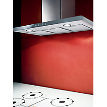 Buy Elica Galaxy Chimney Hood, Stainless Steel/White Glass Online at johnlewis.com