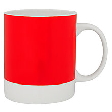 Buy Pantone Mug, Red 186 Online at johnlewis.com