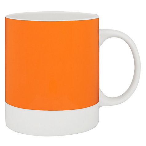 Buy Pantone Mug, Pumpkin 1505 Online at johnlewis.com