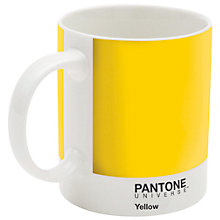 Buy Pantone Mug, Yellow Online at johnlewis.com