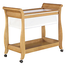 Buy Boori Sleigh Bassinette, Heritage Teak Online at johnlewis.com