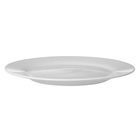 Buy John Lewis The Basics Porcelain Dinner Plates, White, Dia.27cm, Set of 4 Online at johnlewis.com