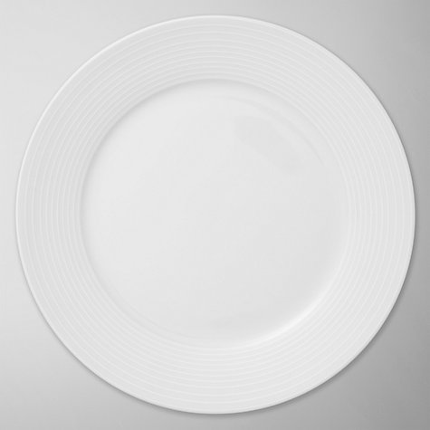Buy John Lewis Value Porcelain Side Plates, Dia.19cm, White Set of 4 Online at johnlewis.com