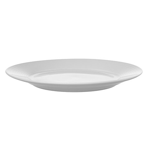 Buy John Lewis The Basics Porcelain Side Plates, Dia.19cm, White Set of 4 Online at johnlewis.com