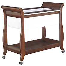 Buy Boori Sleigh Bassinette, English Oak Online at johnlewis.com
