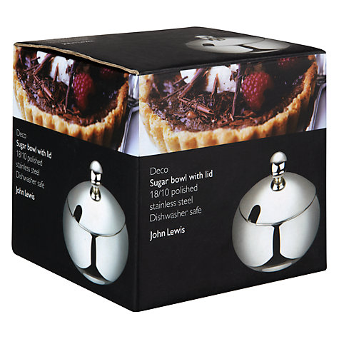 Buy John Lewis Deco Round Sugar Bowl Online at johnlewis.com