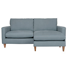 Buy John Lewis Bailey Large Chaise, Duck Egg Online at johnlewis.com