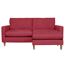 Buy John Lewis Bailey Large Chaise, Chilli Online at johnlewis.com