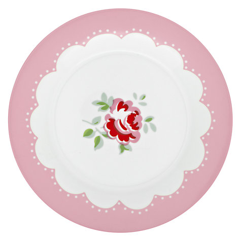 Buy Cath Kidston Dessert Plates, Provence Rose, Set of 4, Dia.23cm, Multi Online at johnlewis.com