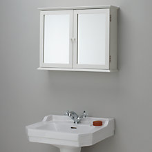 Buy John Lewis St Ives Double Mirrored Bathroom Cabinet Online at johnlewis.com
