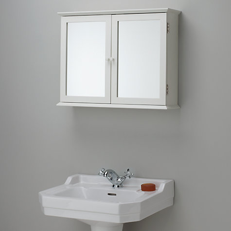 buy john lewis st ives double mirrored bathroom cabinet online at