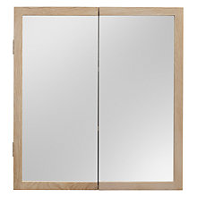 Buy John Lewis Heywood Double Mirrored Bathroom Cabinet Online at johnlewis.com