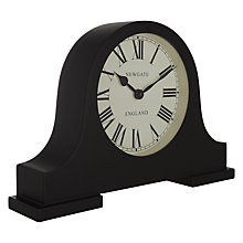Buy Newgate Mantel Clock, Black Online at johnlewis.com