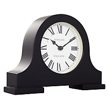 Buy Newgate Mantel Clock, Black, Small Online at johnlewis.com