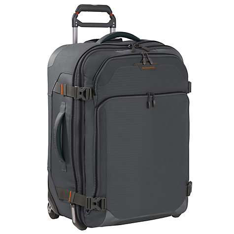 "Buy Briggs & Riley BRX Explore 25"" 2-Wheel Large Upright Suitcase, Slate Online at johnlewis.com"