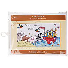 Buy Bothy Threads All Creatures Great & Small Cross Stitch Kit Online at johnlewis.com