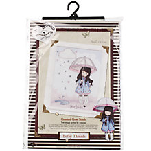 Buy Bothy Threads Gorjuss Puddles Of Love Cross Stitch Kit Online at johnlewis.com