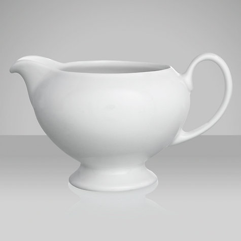 Buy Wedgwood White China Cream Jug Online at johnlewis.com
