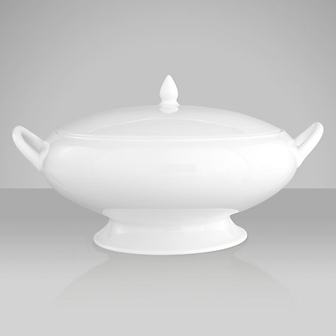 Buy Wedgwood White China Covered Vegetable Dish, 25cm Online at johnlewis.com