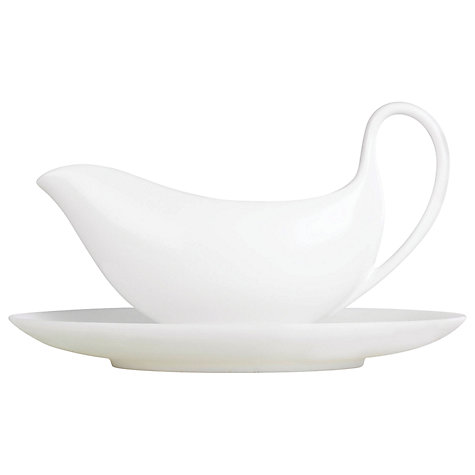 Buy Wedgwood White China Sauce Boat Online at johnlewis.com