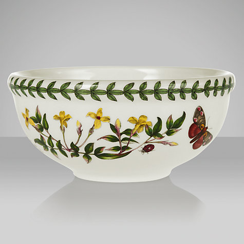 Buy Portmeirion Botanic Garden Fruit Bowl, Convulvus, Dia.14cm Online at johnlewis.com