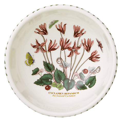 Buy Portmeirion Botanic Garden Fruit Bowl, Cyclamen, Dia.14cm Online at johnlewis.com