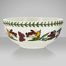 Buy Portmeirion Botanic Garden Fruit Bowl, Fuchsia, Dia.14cm Online at johnlewis.com
